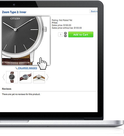 Flexible Virtuemart Zoom Effect on Product Page